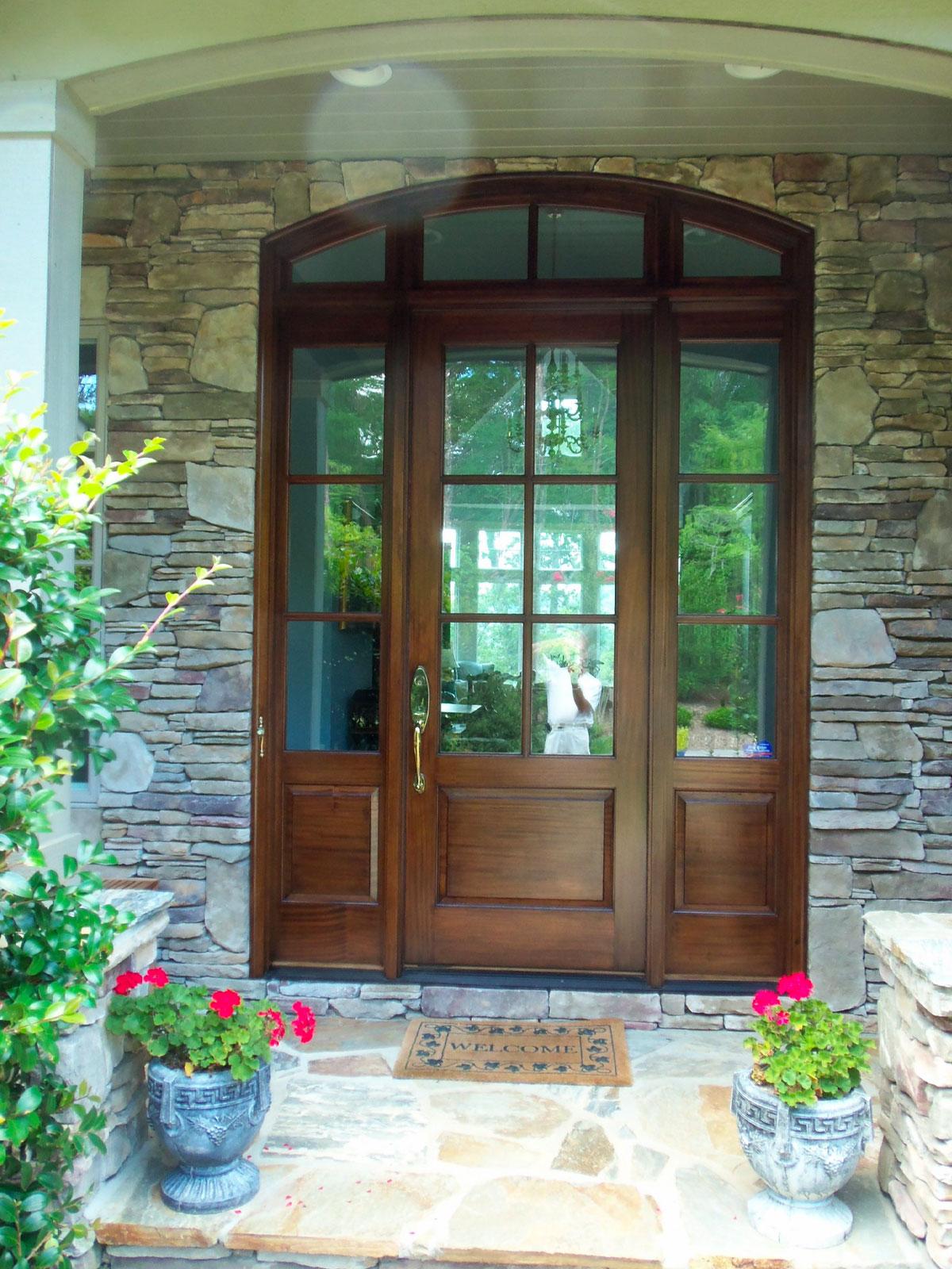 Asheville & Hendersonville Front Door Refinishing