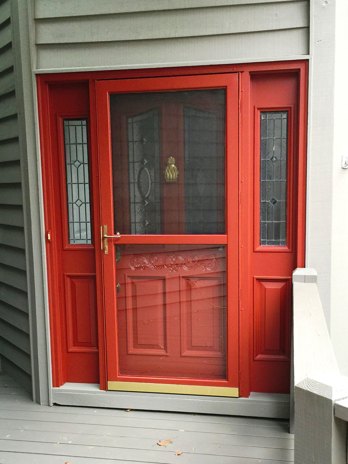 Front Door Refinishing Services